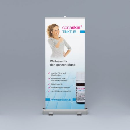 Referenz Roll-Up conaskin tinktur