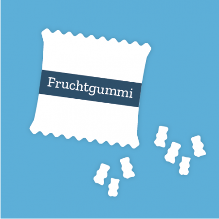 Fruchtgummi Tüten, Give Away